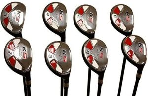 Majek Senior Ladies Golf Clubs All Hybrid Set